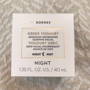 🌙 NWT NIB Korres Greek Yoghurt Sleeping Facial